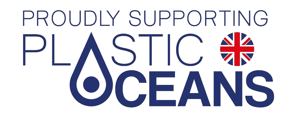 Proudly supporting plastic oceans logo